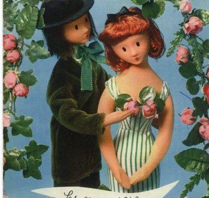Les fiancés d'un poète disparu... Peynet