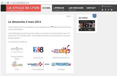 La Cyclo de Lyon 2 mars 2014