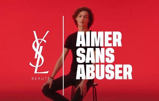 """Les pires pub : """"Aimer sans abuser"""", Yves Saint Laurent Beauté ... Pas classe du tout !"""