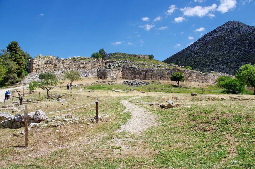 Le site grec de Mycènes
