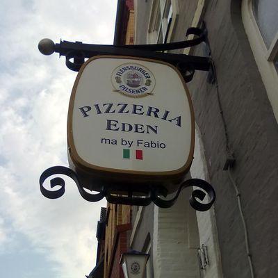 PIZZERIA EDEN MA BY FABIO ein neuer Italiener im alten Steak-Haus Gallberg 11 in Schleswig