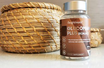 Glucomannan Plus de WeightWorld, pour m'aider dans ma perte de poids!!