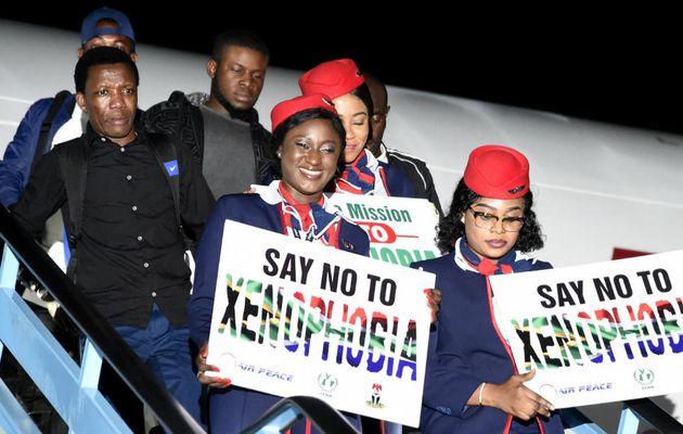 Près de 200 Nigérians rapatriés d'Afrique du Sud ont atterri à Lagos