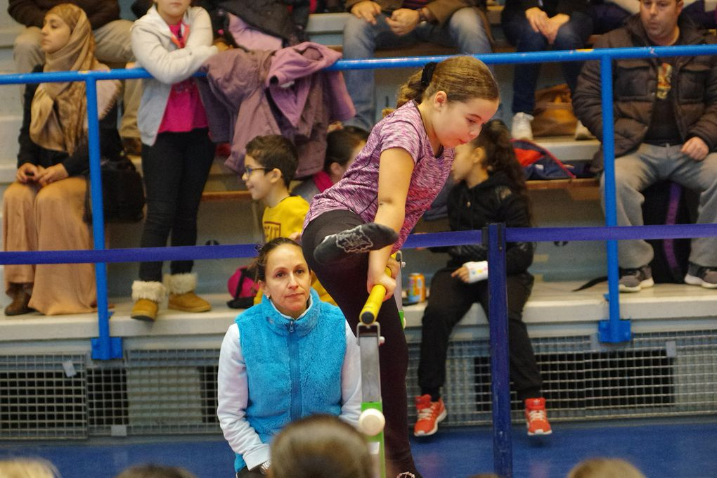 Les bénévoles  du CMOV Gymnastique Danse et Trampoline ont été soumis à rude épreuve ce samedi après-midi.