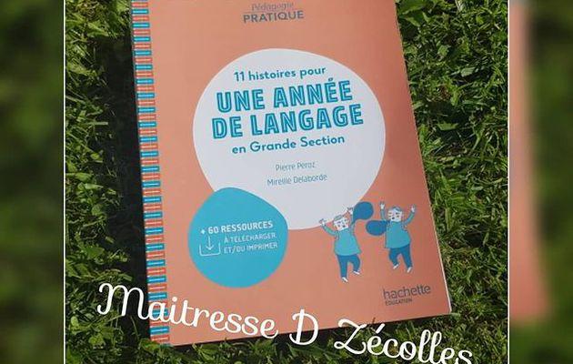 11 histoires pour une année de langage chez Hachette Education