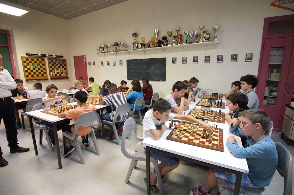 diaporama tournois d'échecs Orange cours Cavalier
