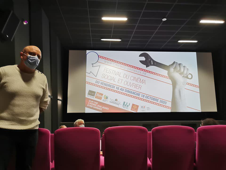Cinéma / Carmaux: il reste une humanité dans la patrie de Jaurés: le festival du film social et ouvriers! interviews,photos et reportages par Nicolas Caudeville
