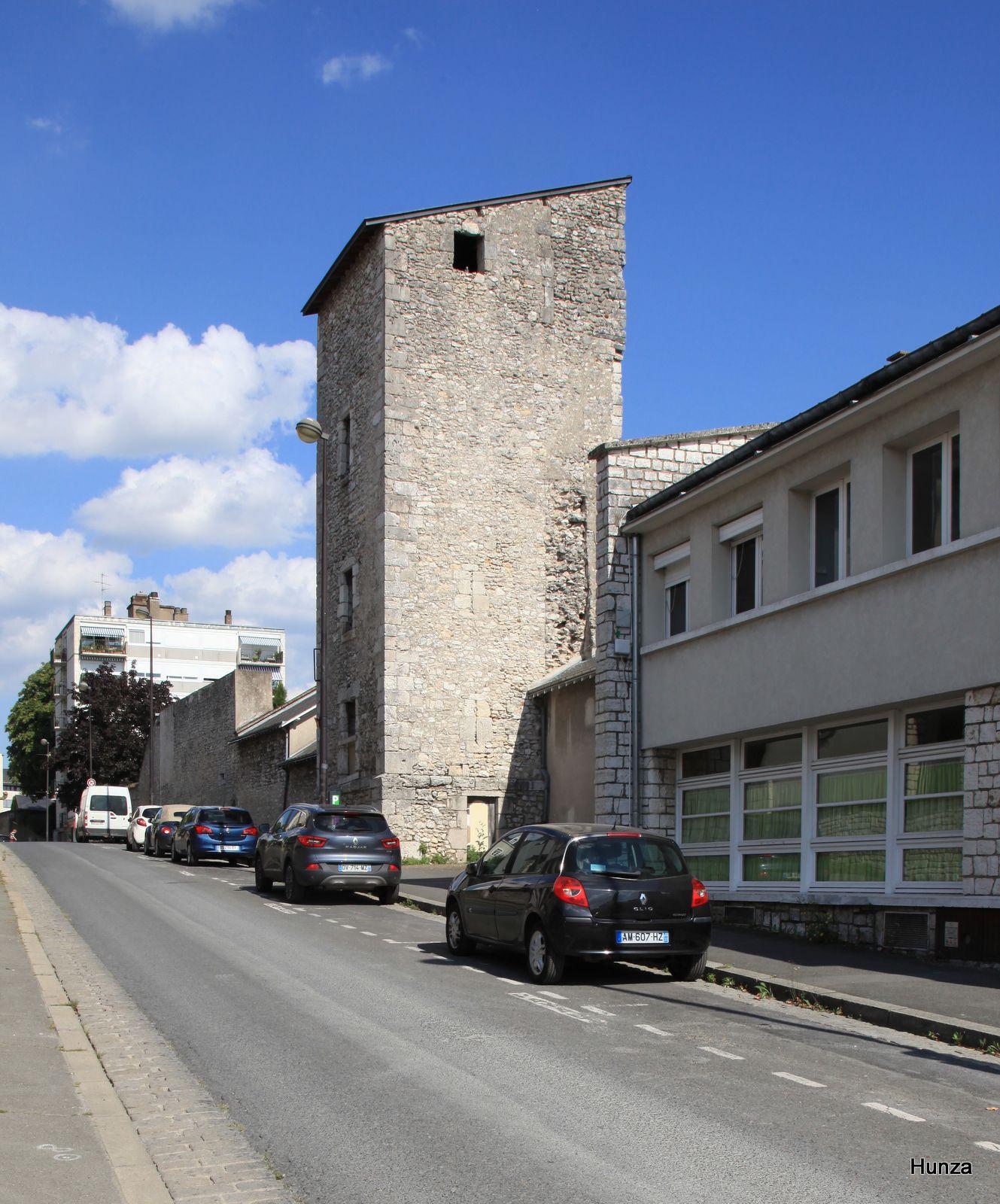 Blois, tour des Cordeliers