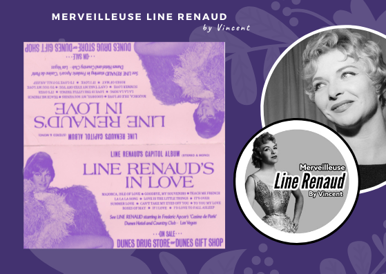 DOCUMENTS:  Chevalet Promo Line Renaud's in Love - 1969 (USA)
