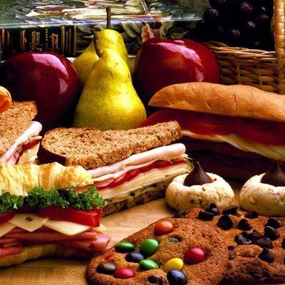 Bon appétit - Nourriture - Sandwichs - Fruits - Légumes - Cookies - Wallpaper - Free