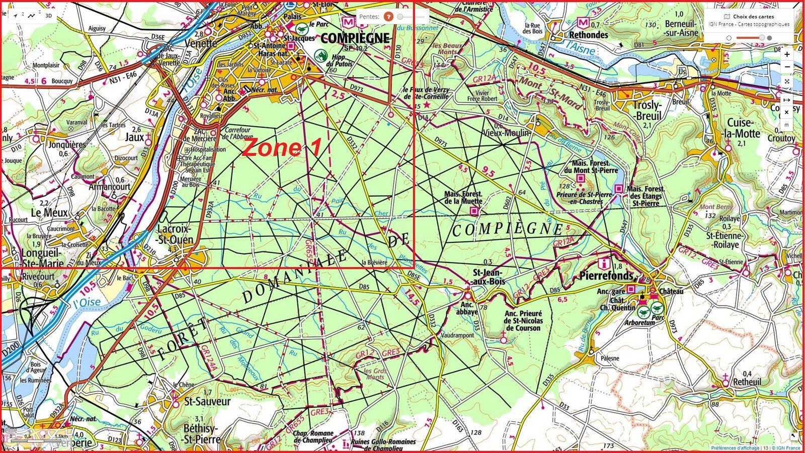 carrefour_Route du Pont Palesne_Chemin des Meuniers (piste cyclable)