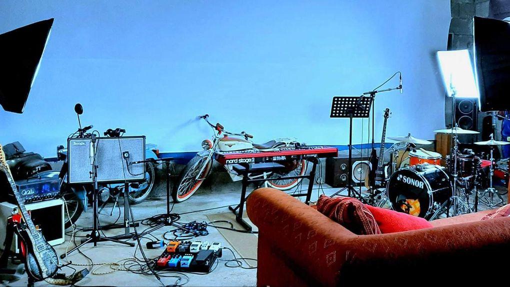 Studio son nomade avec Mad Max Trio