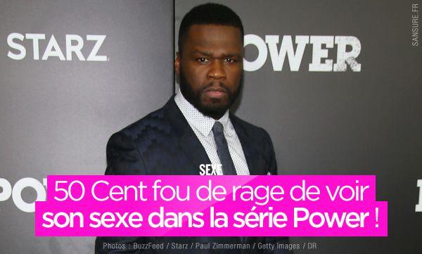 50 Cent fou de rage de voir son sexe dans la série Power ! #50Cent