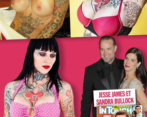 Les photos hot de Michelle McGee, la maitresse de Jesse James !