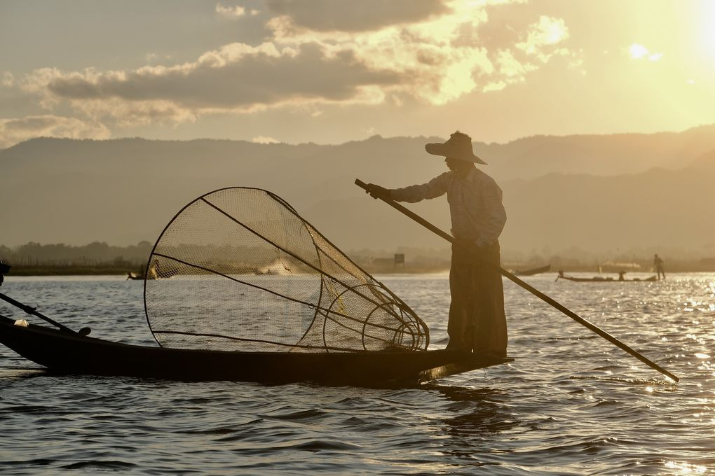Pêcheurs en couleur....