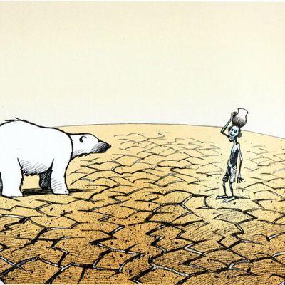 RECHAUFFEMENT  CLIMATIQUE  devrait  passer en  NUMERO   1 ( des  problèmes  )  ???