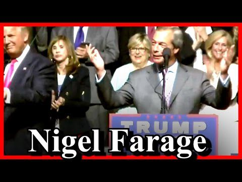 video Trump convie Nigel Farage et le Brexit à son meeting