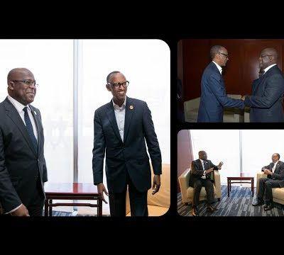 Le Président de la #RDCongo Félix Tshisekedi sa Tournée Africaine et Tête-à-Tête avec P. Kagame U.A.