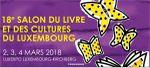 Salon du livre et des cultures - Luxembourg Kirchberg - Luxexpo - les 3 et 4 mars 2018