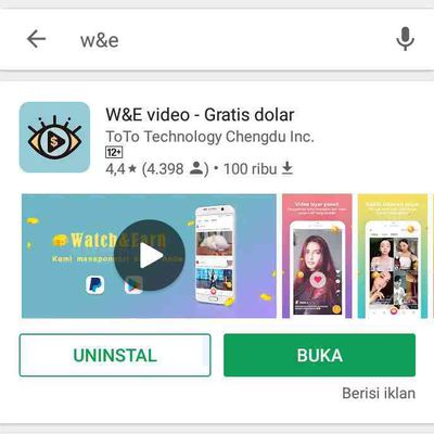 Aplikasi W&E Video Gratis_Dollar Apk Mod