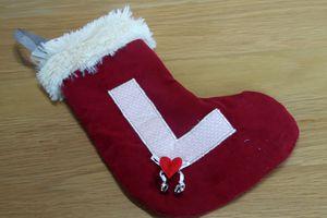Un chaussette de Noyel pour Lucylle