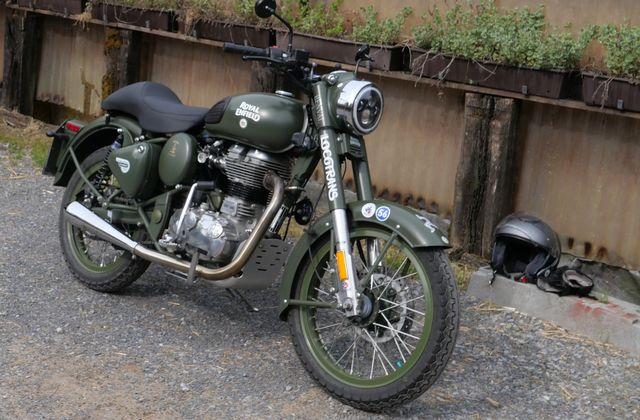 Royal Enfield - Vitesse ?