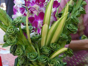 Bouquet en feuilles de bayteuil
