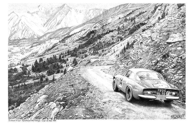 Coupe des Alpes 1969