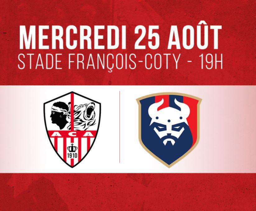 AC Ajaccio / Caen : Comment suivre la rencontre mercredi ?