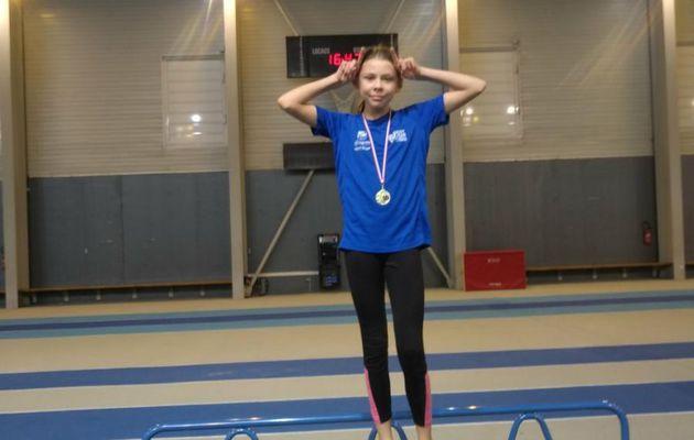Alyssa BRIZARD : championne de Vendée poussine