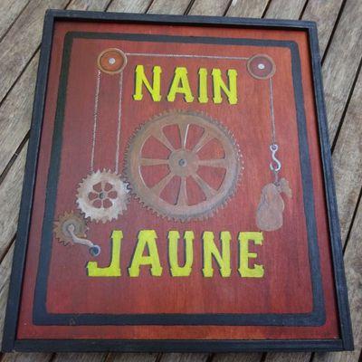 Un Nain Jaune steampunk