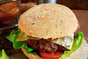 Hamburger maison à la marocaine