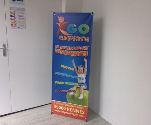 Du sport pour les enfants, viens on découvre GoBaby Gym*