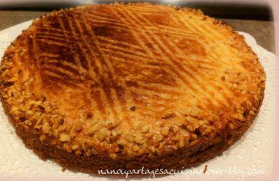 🟣 gâteau breton fourré au caramel et pommes 🟣