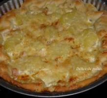 Pizza franc comtoise / Pizza franco comtoise