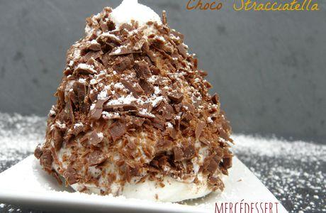 Merveilleux chocolat stracciatella (sans gluten)