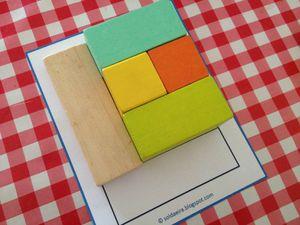 Une autre approche des cubes de constructions : les séquences