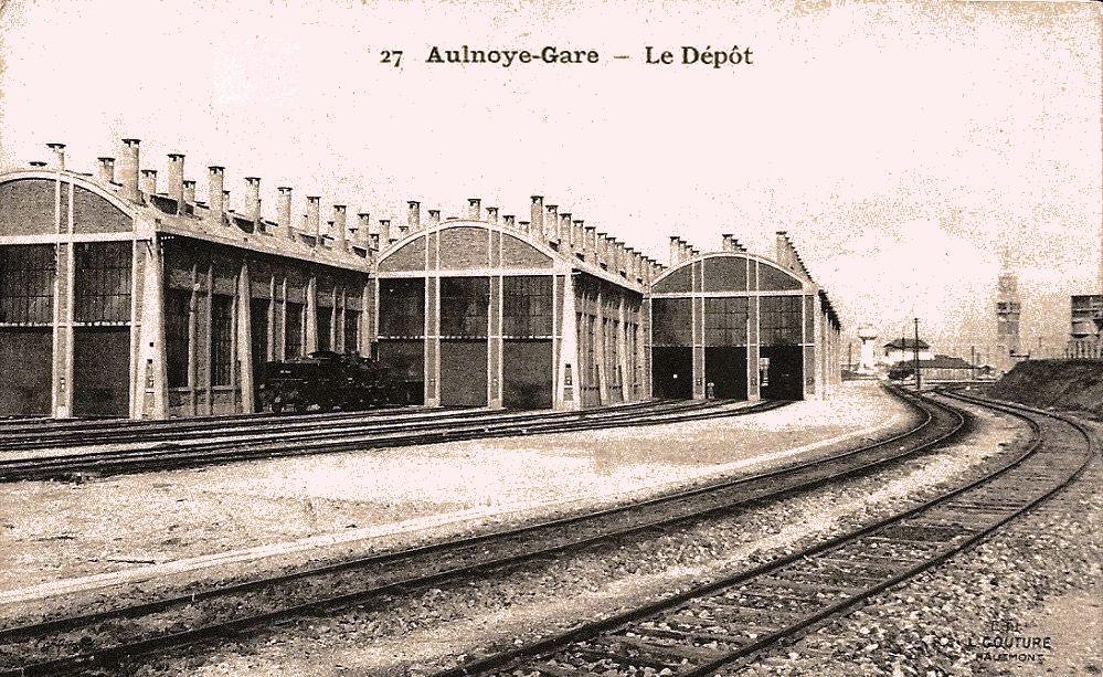 Aulnoye l'ancien dépôt des locomotives (1)