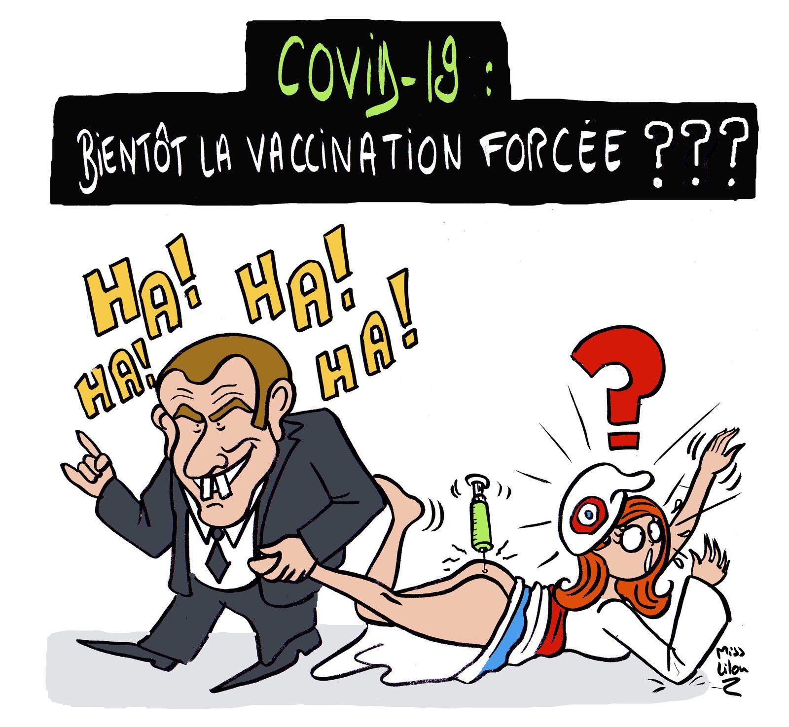 """""""Covid-19 : bientôt la vaccination forcée ???"""""""