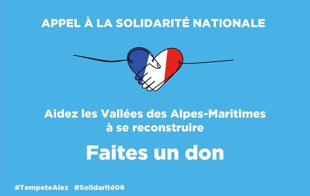 Solidarité avec nos vallées du 06 !