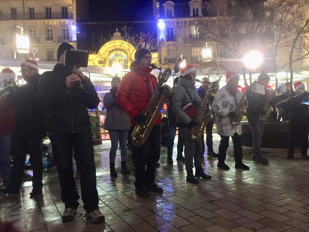 Marché de Noël de Dijon 2017 - Place Darcy