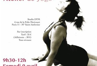 "Atelier de yoga ""Ouverture"" : samedi 9 avril"
