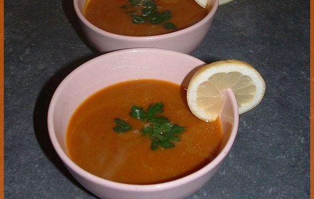 Soupe de Potimarron et Carotte (Un potage qui vous veut du Bien ^^)