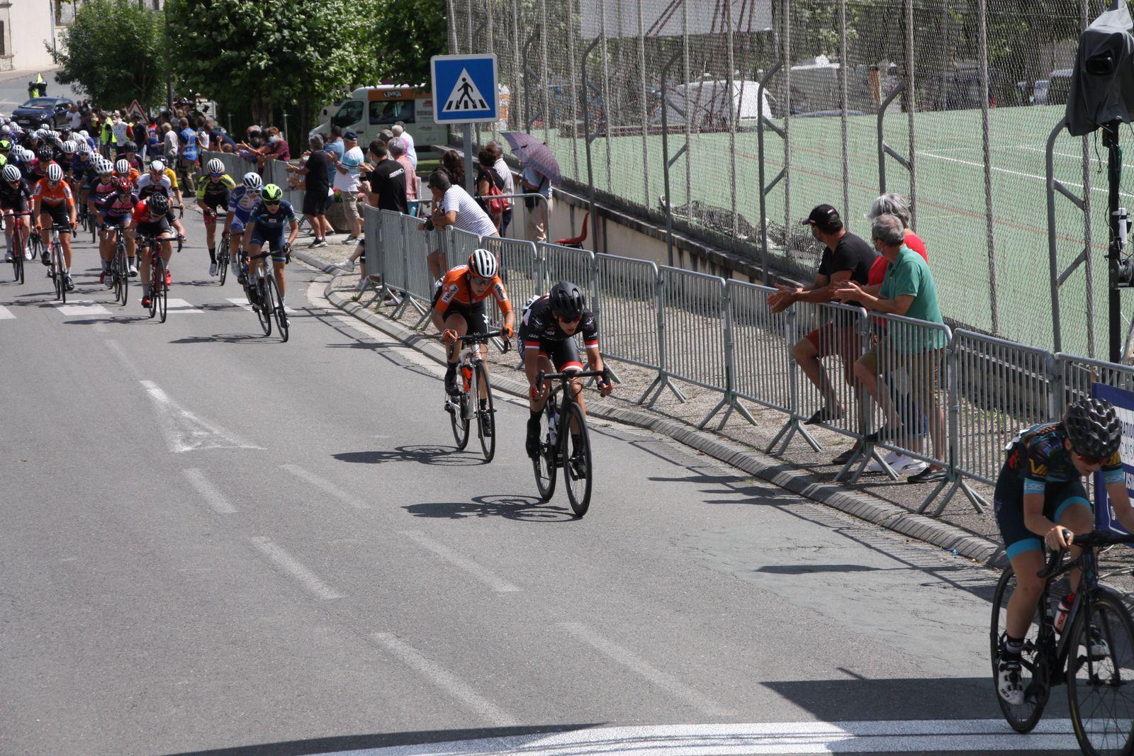 Fin  du  2e  tour  Pauline  ALLIN  attaque