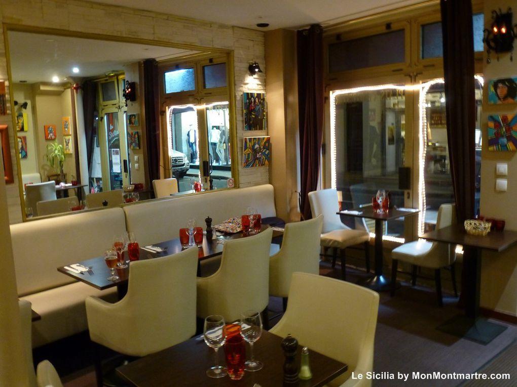 Restaurant La Sicilia 119 rue des Dames Paris 17
