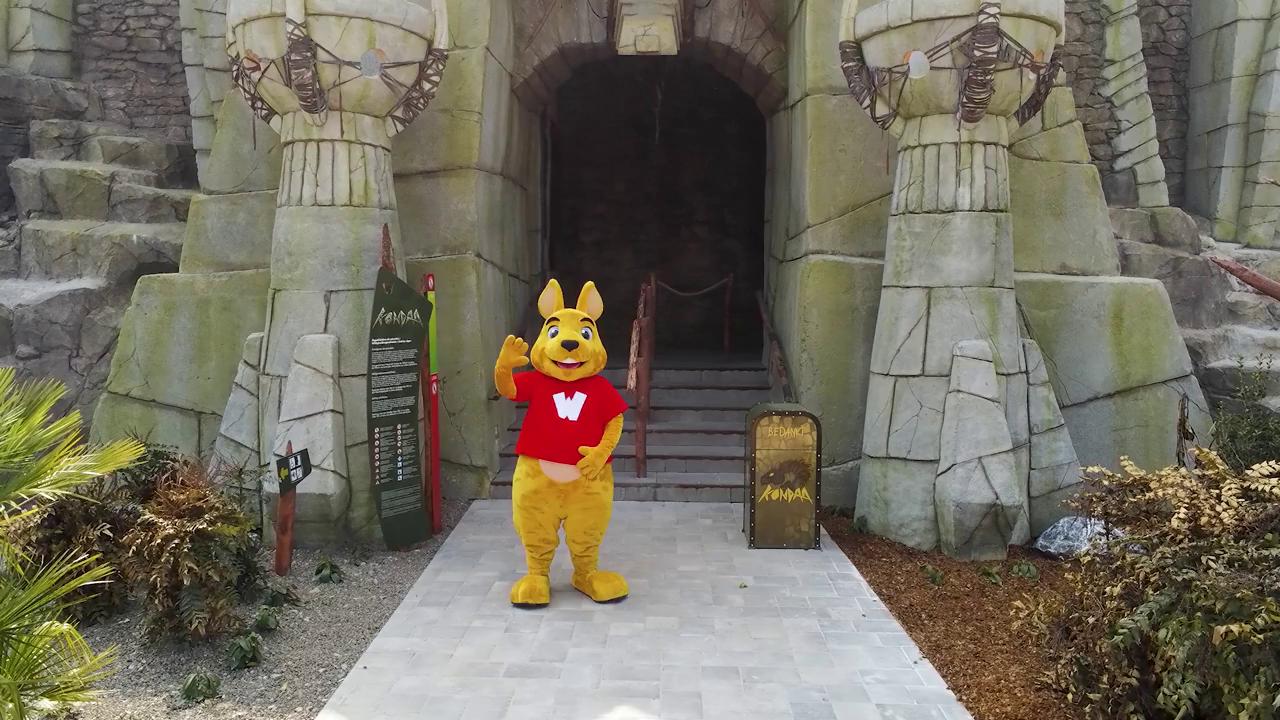Une nouvelle mascotte pour les parcs Walibi