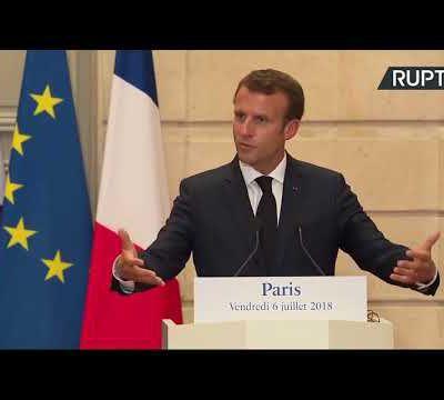 Questions à Emmanuel Macron et l'Émir du Qatar (Vidéo)