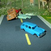 SIMCA MARLY BREAK 1957 CADUM PAX 1/87 - car-collector.net