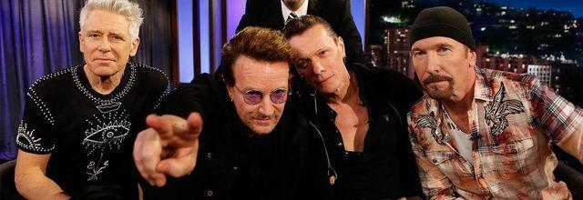 U2 -Jimmy Kimmel Show -Californie -23-05-2017