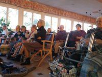 Le spectacle de l'école à la maison de retraite!